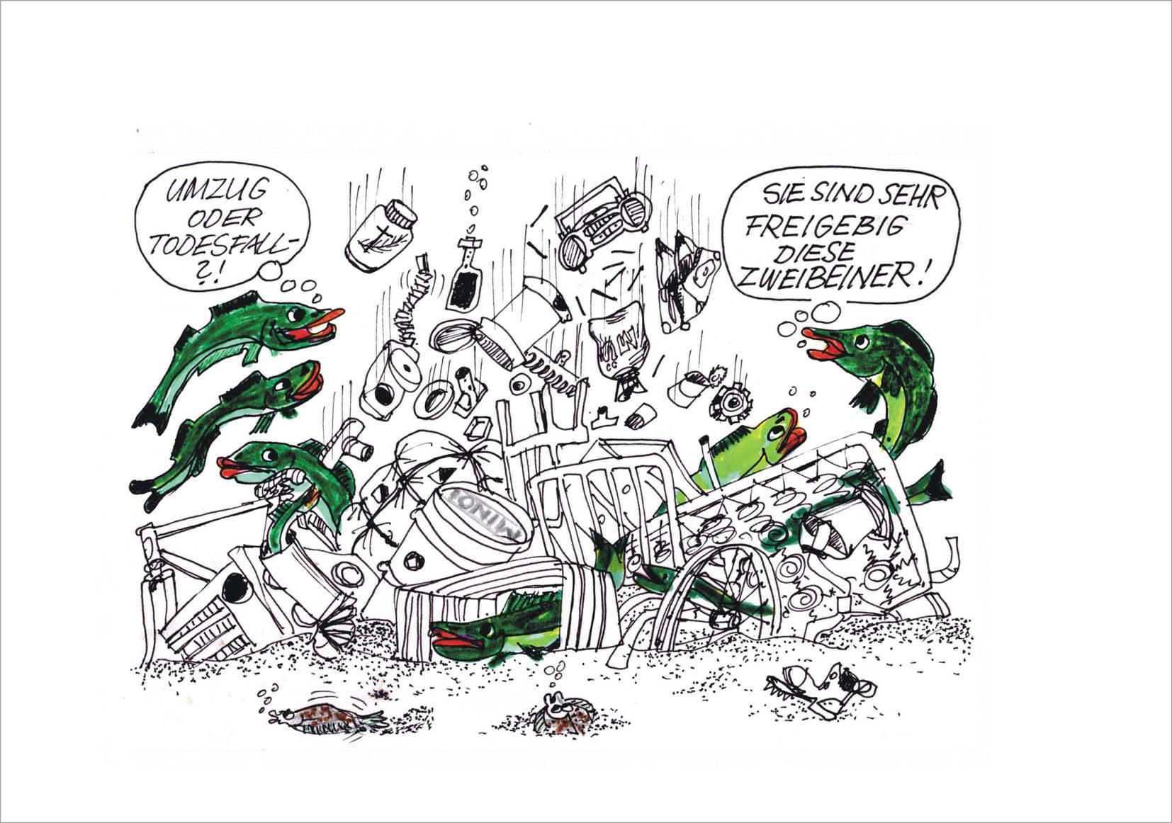 Humor Galerie Im Logis Illustrative Darstellungen Zur